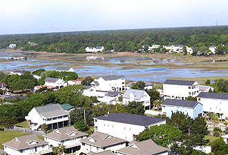 View of Murrells Inlet from Royal Gardens