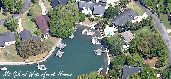 Aerial View of Mt Gilead in Murrells Inlet