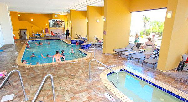 Indoor Pools at Anderson Ocean Club