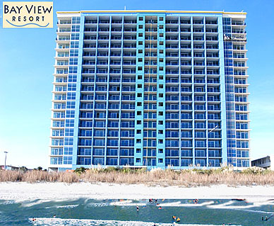 Bay View Hotel Myrtle Beach South Carolina