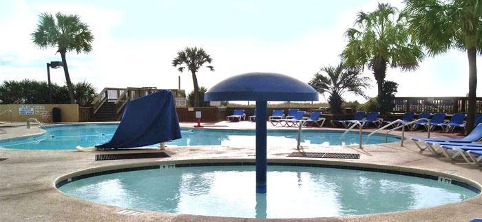 Pool at Beach Cove Resort