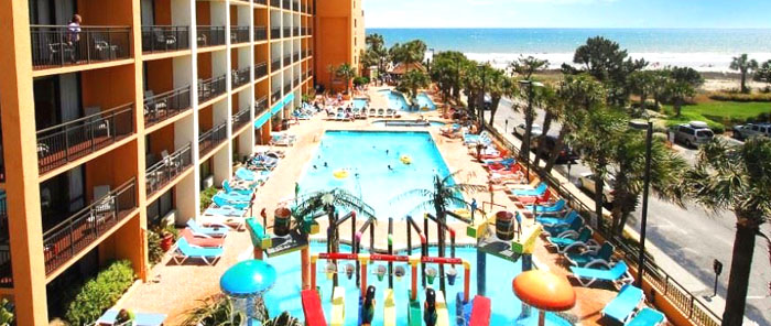 Caravelle Resort Pools