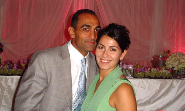 Abe Safa and wife