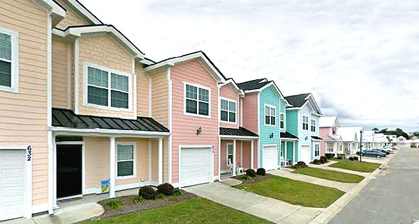 Homes in Cottages at 7th, North Myrtle Beach