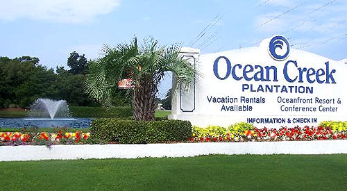 The fabulous Ocean Creek Plantation Resort