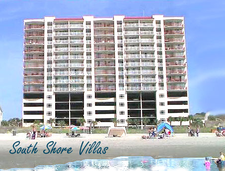 South Shore Villas Condos in North Myrtle Beach