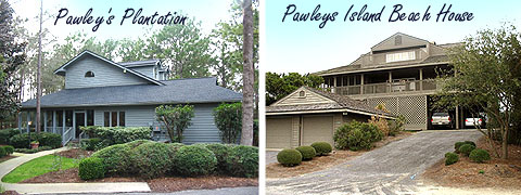 Pawleys Plantation and Island Beach Homes