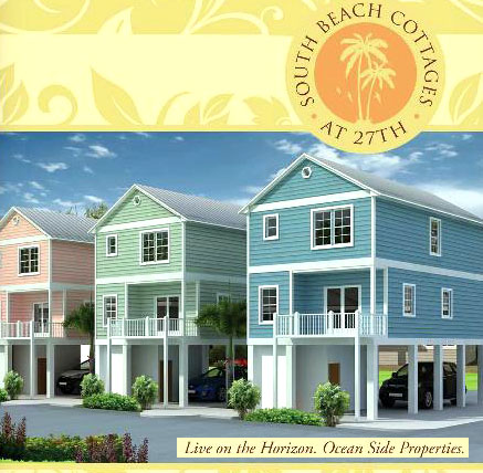 New homes for sale in Myrtle Beach - South Beach Cottages
