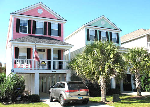 surfside beach houses