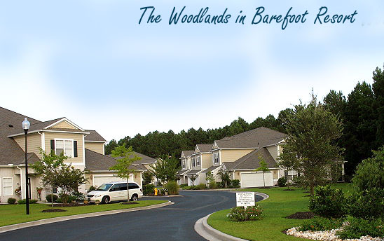Woodlands Townhomes in Barefoot Resort