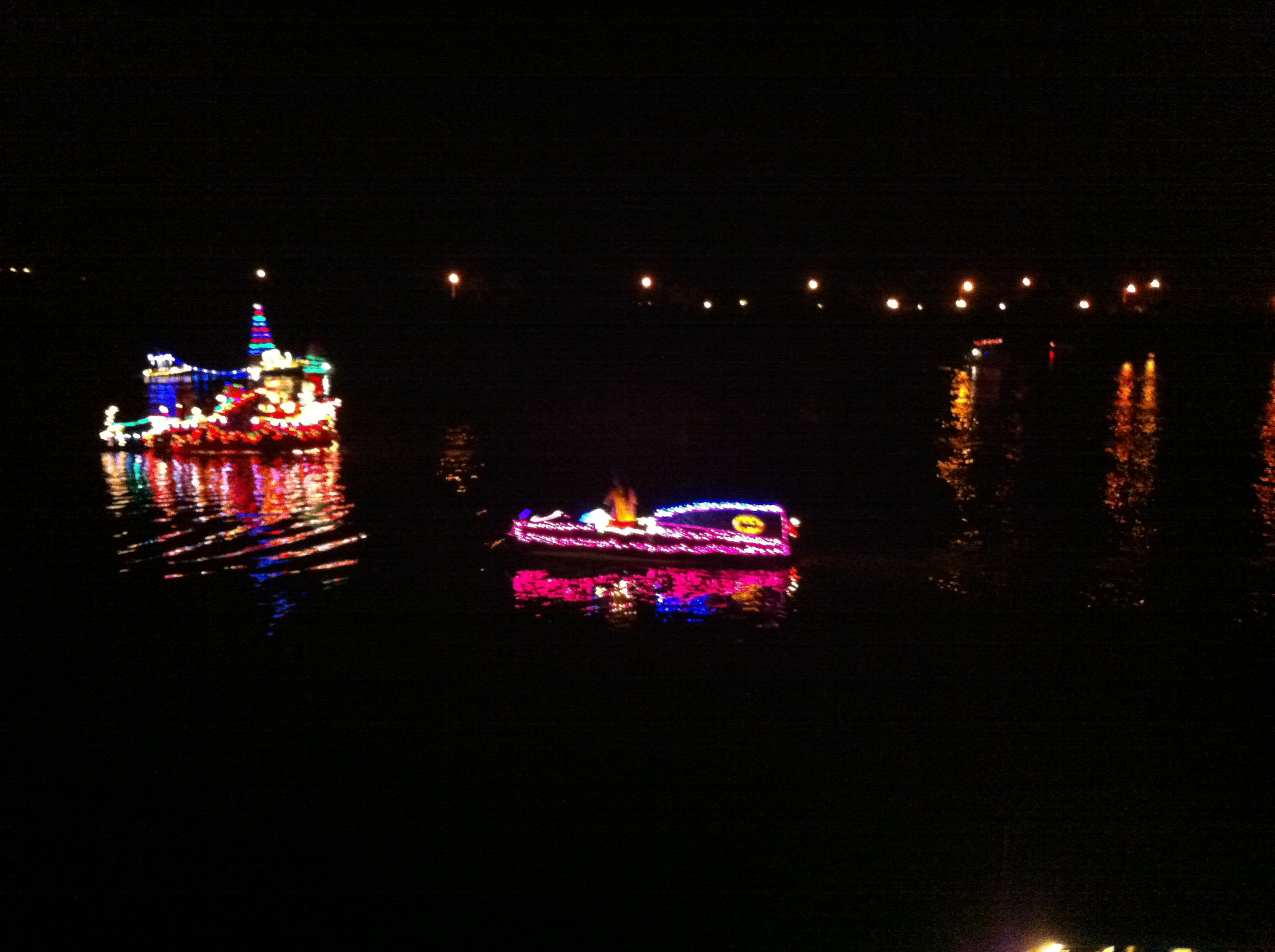 Hawaii Kai Boat Parade Skiff