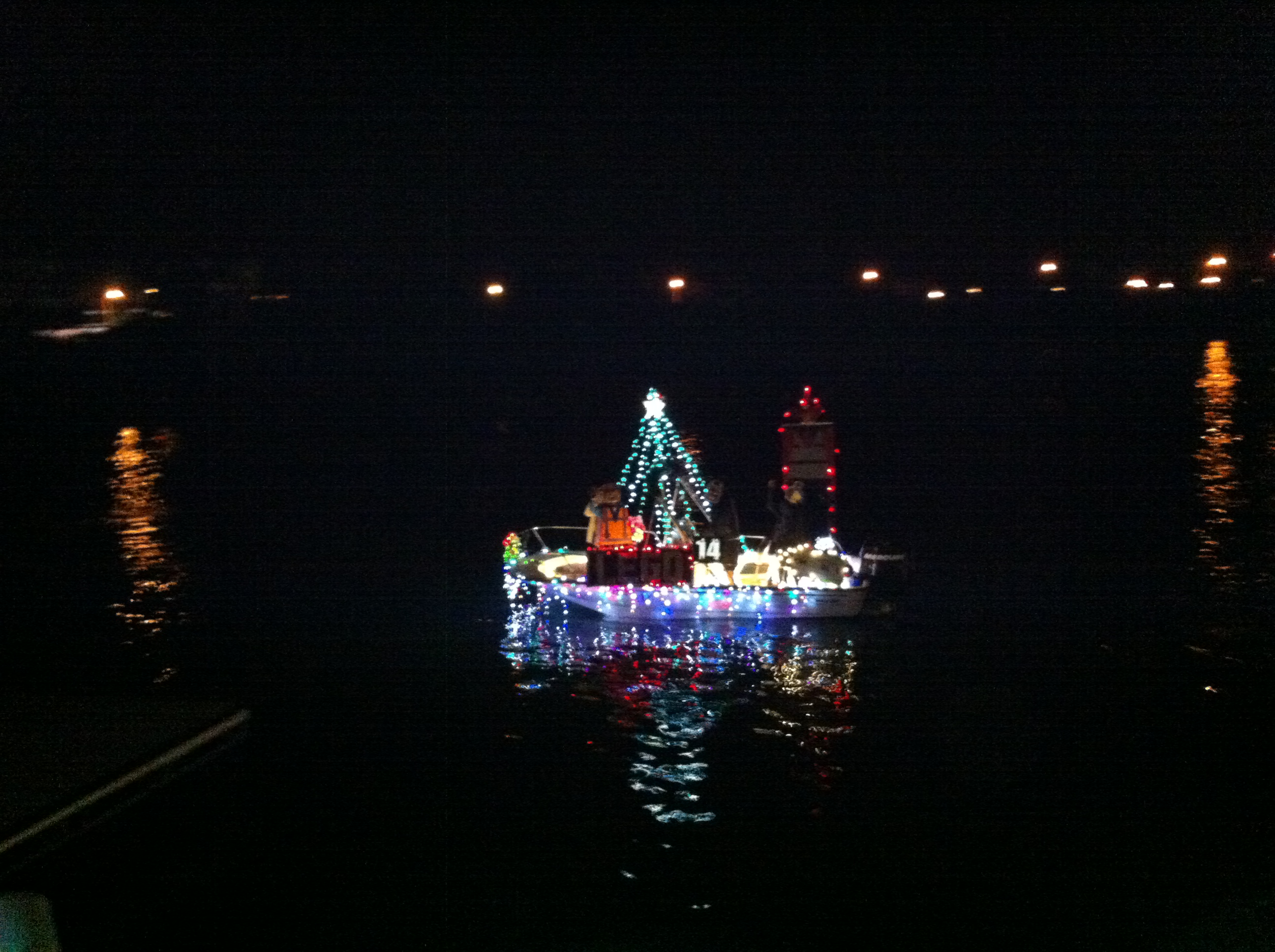 Hawaii Kai Boat Parade Christmas Float
