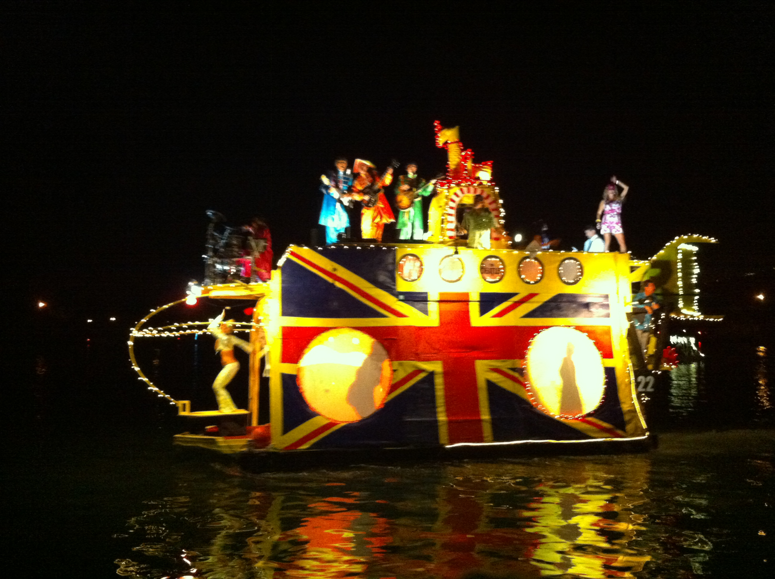 2014 Hawaii Kai Boat Parade Winner