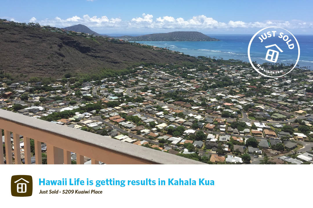 Kahala Kua Just Sold
