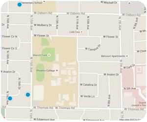 Campus Vista Interactive Map Search