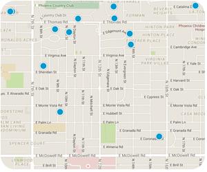 Coronado Interactive Map Search