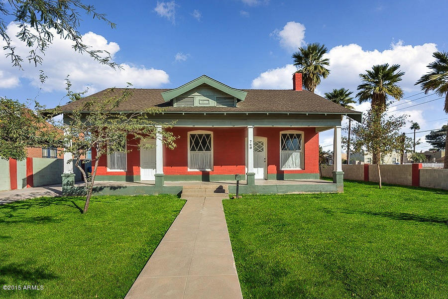 Garfield historic district real estate for sale in for Victorian houses for sale in arizona