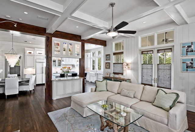 Family Room with Ceiling Fan Google Image