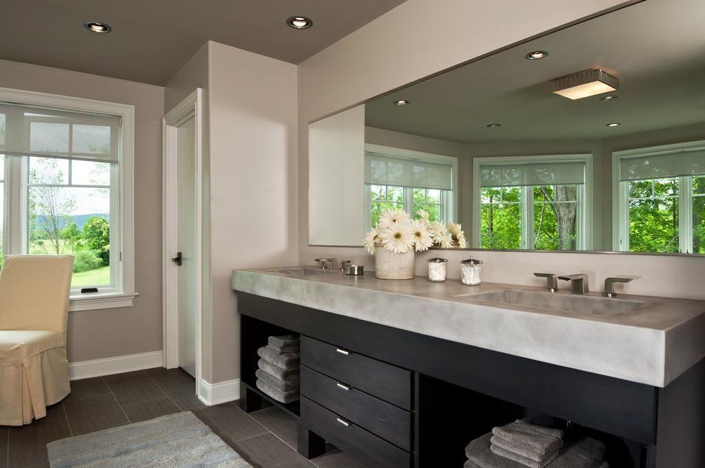 modern master bath for blog