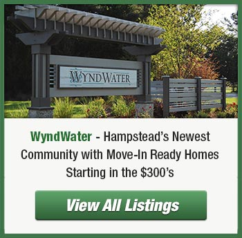 WyndWater subdivision in Hampstead, NC