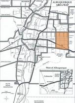 Northeast Heights Area Map