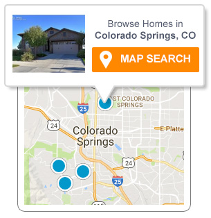 Colorado Springs Real Estate Map Search