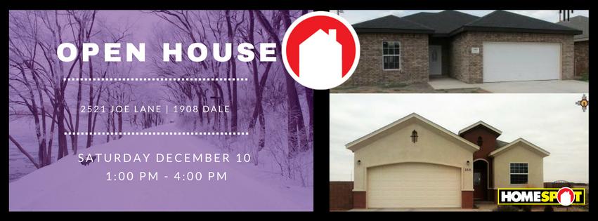 HOMESPOT | Open House | 12/10