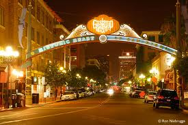 gaslamp district downtown san diego