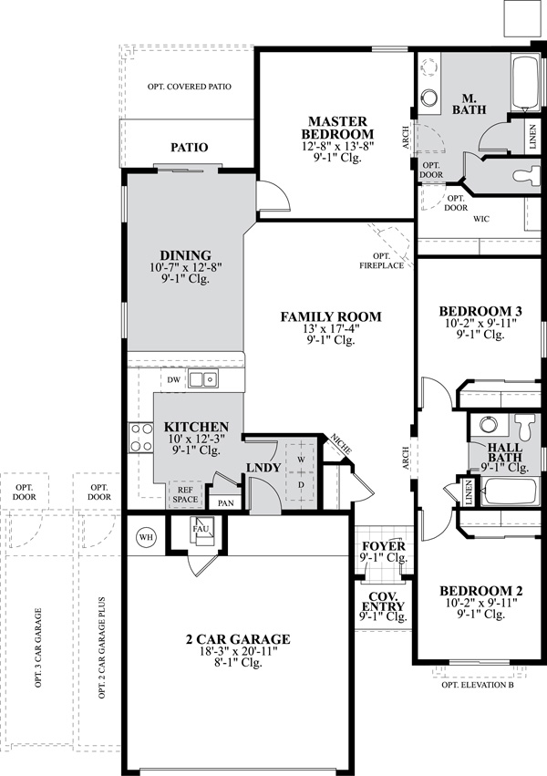 Dr horton homes floor plans for Alberta house plans