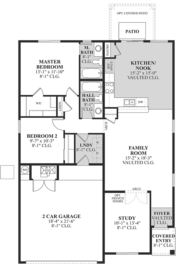 Dr horton capri floor plan arizona for Dr horton home share floor plans