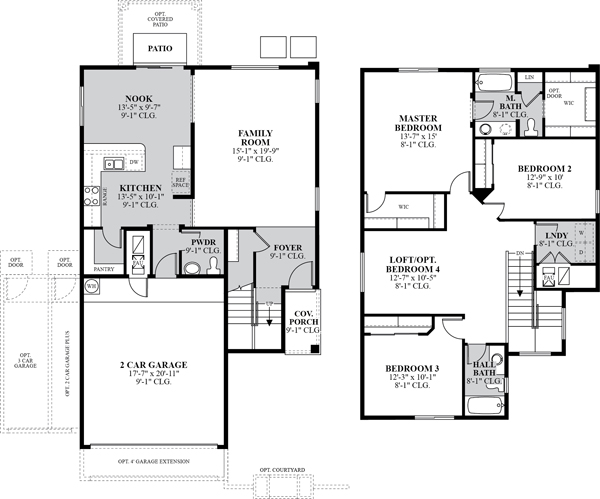 Photo dr horton cambridge floor plan images 100 for Dr horton home share floor plans