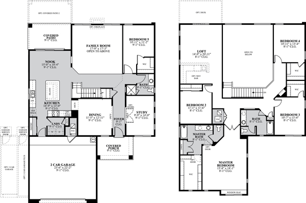 Dr horton floor plans albuquerque for Dr horton home share floor plans