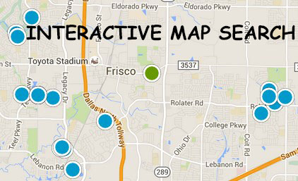 Frisco Interactive Map Search