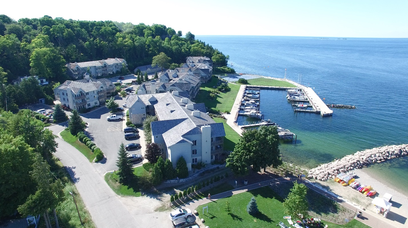 Yacht Club At Sister Bay Condominiums For Sale In Door