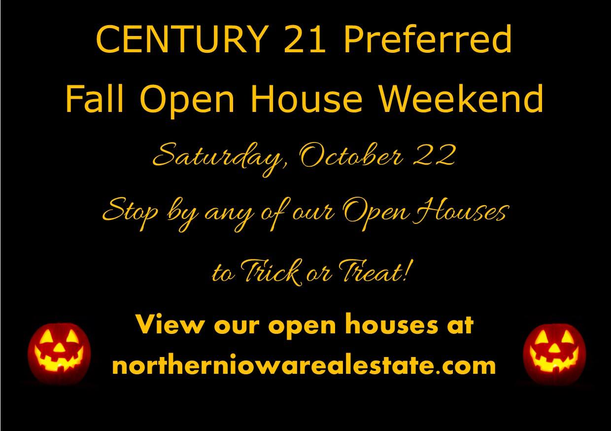 C21 Mason City Fall Open House Weekend 2016
