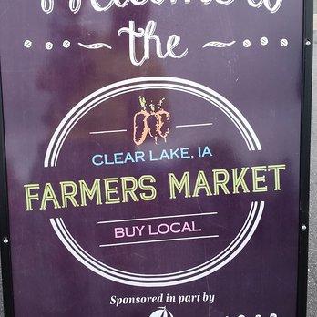 Clear Lake Farmers market
