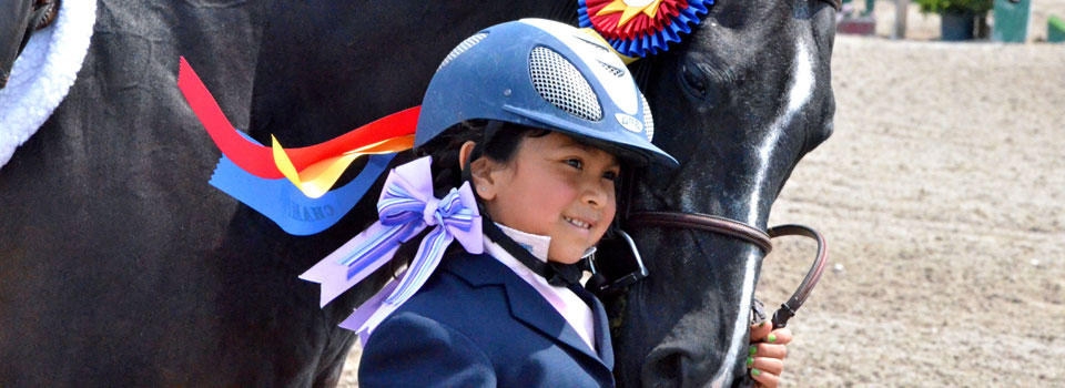 Little Girl at Horse Show