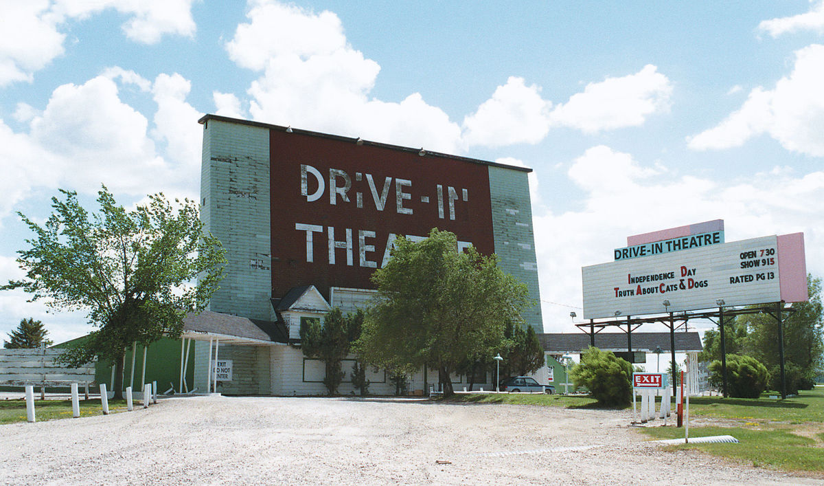Historic Mason City Drive-In Theater