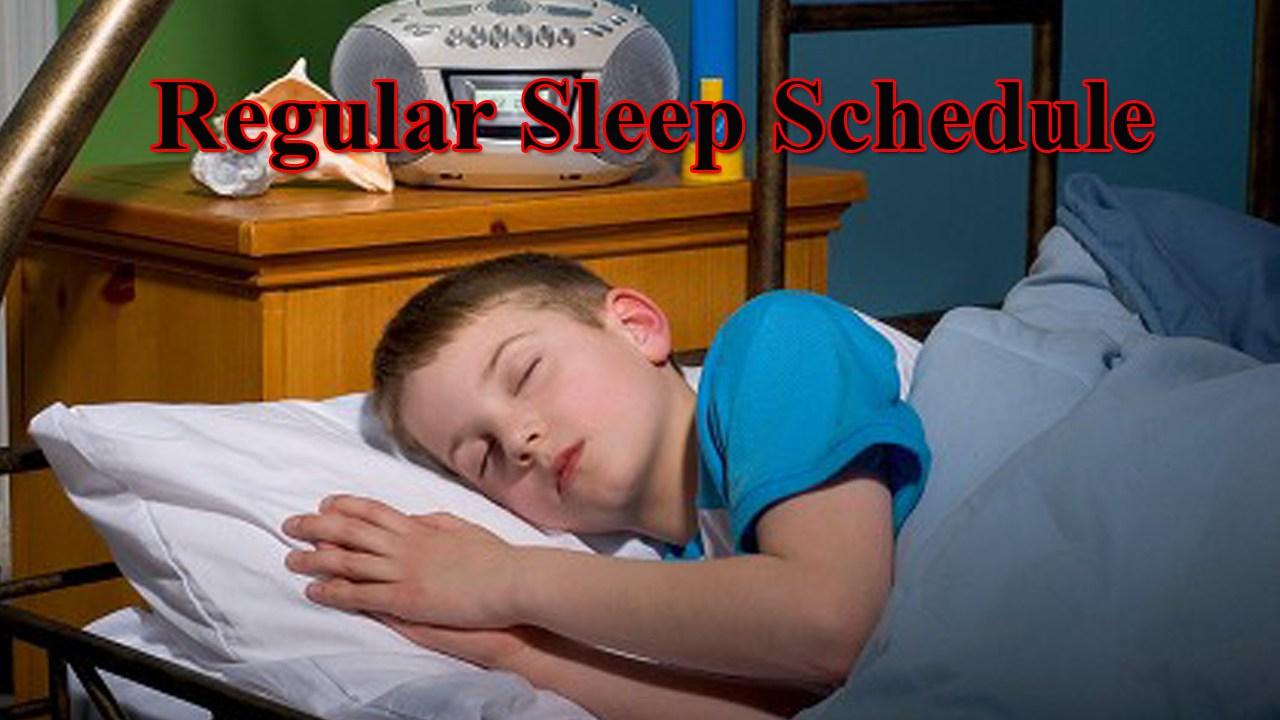 Kids Regular Sleep Routine