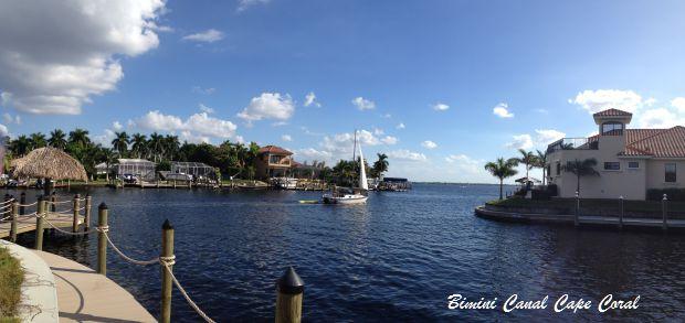 Bimini Canal Cape Coral Florida