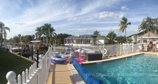 Baruna Bay Gulf Access Canal Pool View