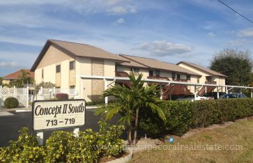 Concept II South Gulf Access Condo Units for Sale in Cape Coral