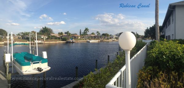 Coral Key Condo on the Rubican Canal