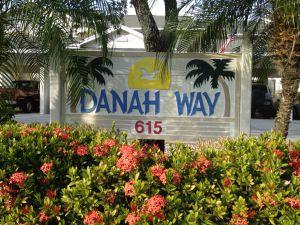Danah Way Condo Sign