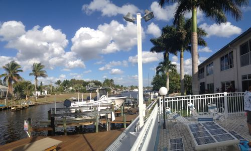 Harborside Villas Boat Docks