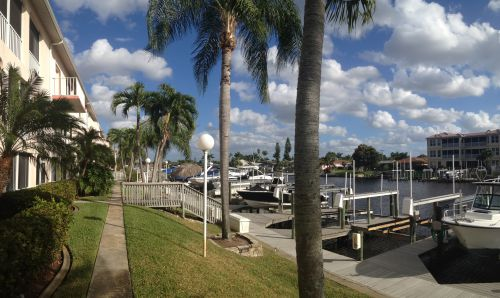 Boat Docks at Parkway East Cape Coral