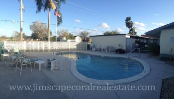 Pool at the Waters Edge of Cape Coral complex
