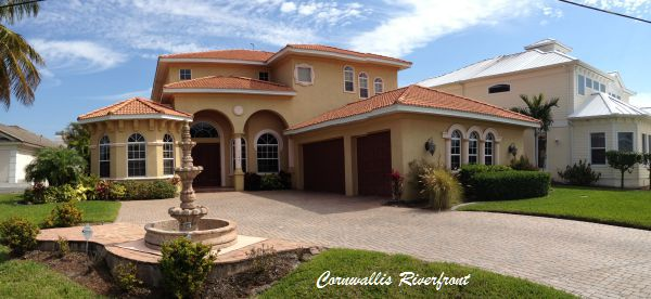 Homes for sale in the Cornwallis neighborhood of Cape Coral Florida