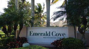 Emerald Cove Cape Coral Sign