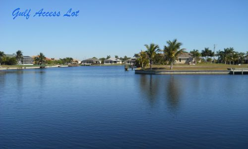 Cape Coral Gulf Access Lots for Sale